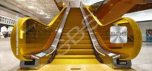 Step by Step Escalator Cleaning System