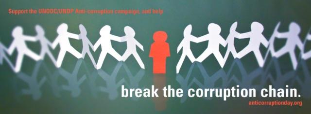 BREAK THE CORRUPTION CHAIN